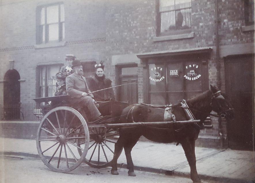 Nuneaton. Grove Road, c.1910.   Image courtesy of Nuneaton Memories