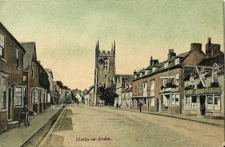 High street, Henley in Arden. The Coach and Horses public house is on the right hand side. | Image supplied by Gordon Brinkworth