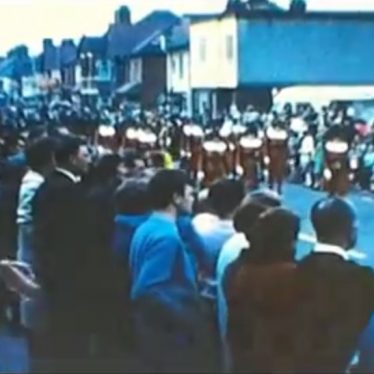 Video of Nuneaton Carnival, 1960s