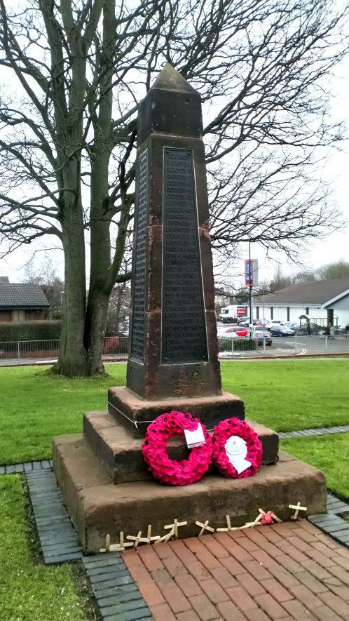 Radford War Memorial,2018. | Image courtesy of Sharon Dowd