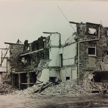Nuneaton Union Workhouse, demolished 1971. | Image courtesy of Nuneaton Hospitals Historical Collection, supplied by Nuneaton Memories