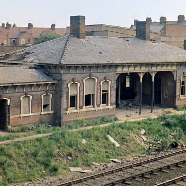 Abbey Station, Nuneaton, prior to demolition. | Image courtesy of Nuneaton Memories