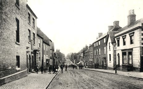 Atherstone Workhouse on left of picture, nearest the camera . | Image courtesy of Peter Lea