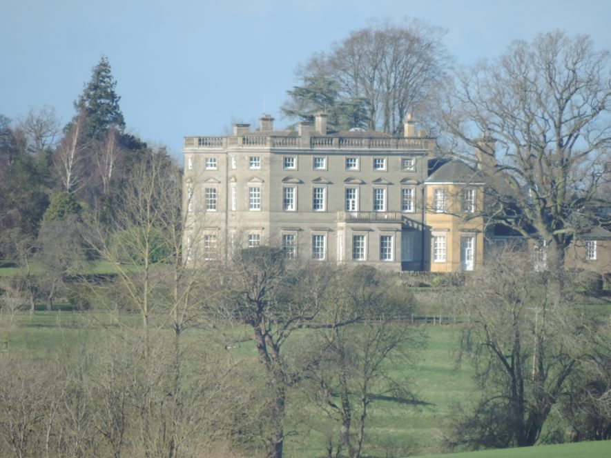 Bourton Hall from Draycote Water, 2018. | Image courtesy of Cathy Clapinson