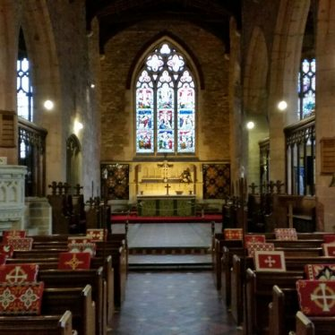 Interior of St Edith's Church, Monks Kirby. 2018. | Image courtesy of Sharon Dowd