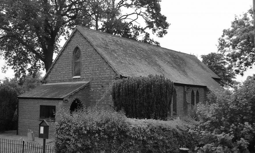 St Mark's Church, Flecknoe. | Image courtesy of Sharon Dowd
