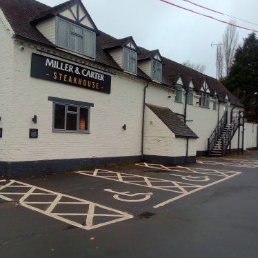 Washford Mill, Studley, 2018. Now a Steakhouse. | Image courtesy of Lesley Stanhope