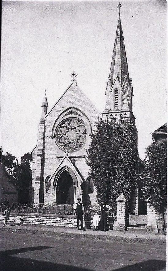 The original Henley-in-Arden Baptist Chapel that burned down in the 1860s. | Image supplied by Gordon Brinkworth