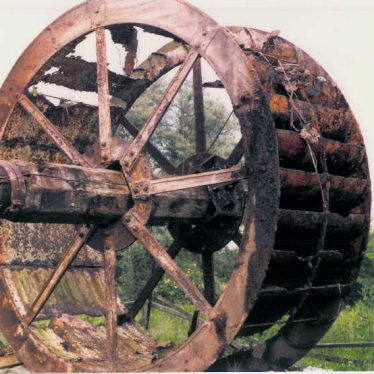 Arley. Daw Mill Colliery Water Wheel