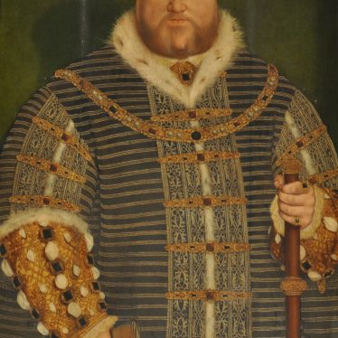 Henry VIII, a Portrait, and a Visit to Warwick Castle