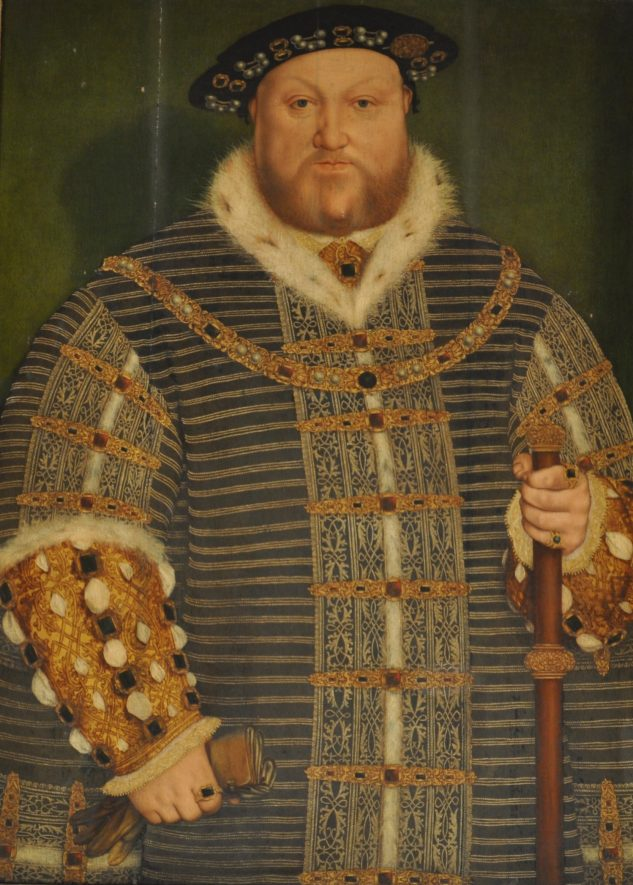 Portrait of Henry VIII, c.1532, formerly in the collection of Warwick Castle. | Image supplied by Aaron Manning