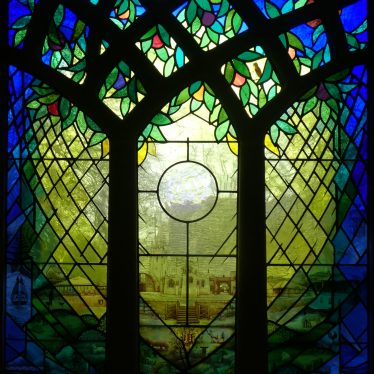 Hope Window in new north east window. Church of St Mary, Lapworth | Image courtesy of Adam Pearce