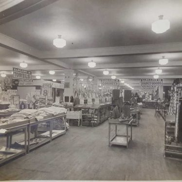 Nuneaton. J C Smiths Department Store | Image courtesy of Catherine Green, supplied by Nuneaton Memories