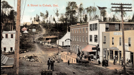 Postcard of Cobalt, c. 1906. | Image courtesy of Cobalt Mining Museum