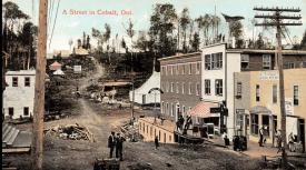 Postcard of Cobalt, c. 1906. | Image courtesy of Cobalt Mining Museum