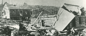 Cobalt May 1906, after the dynamite explosion. | Image courtesy of Cobalt Mining Museum