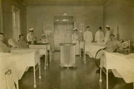 Interior of new Cobalt Hospital, c. 1909. | Image courtesy of Cobalt Mining Museum