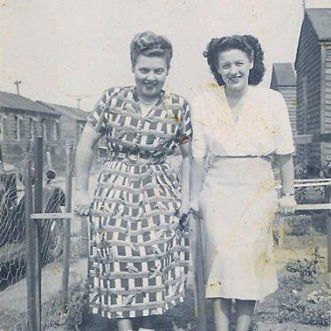 My Mum on the left, 1950s. | Image courtesy of Ian Burgess