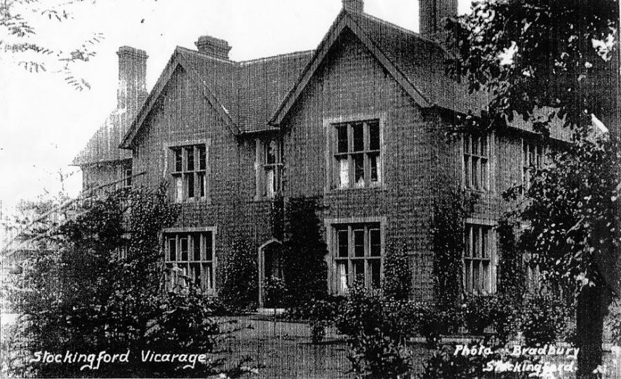 St Paul's Vicarage. Stockingford, Nuneaton. A later view of the vicarage, not long before demolition, for Church Farm Estate (Church Road - Wiclif Way area). | Loaned to Geoff Ward by Terry Ray (St Paul's)