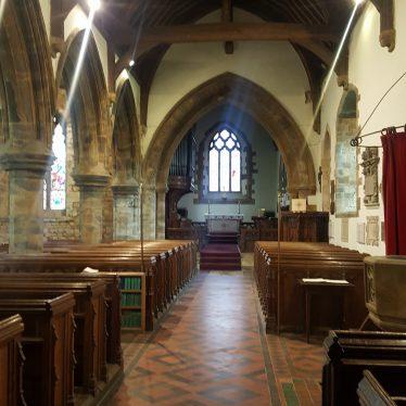 St Botolph's Farnborough inside, 2018. | Image courtesy of Isobelle Prentice