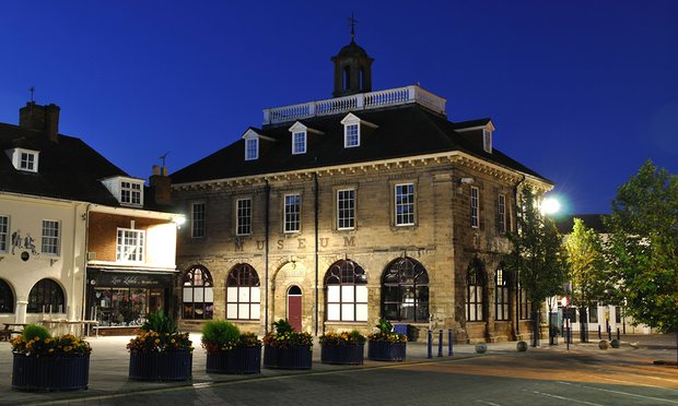 Market Hall Museum at night | Image courtesy of Heritage & Culture Warwickshire