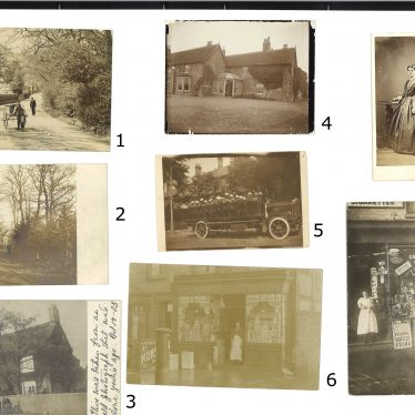 The first page of unidentified images. | Images courtesy of Warwickshire County Record Office
