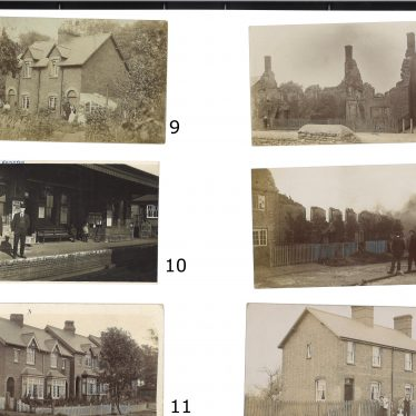 A second page of unidentified images. | Images courtesy of Warwickshire County Record Office