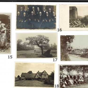 A third page of unidentified images. | Images courtesy of Warwickshire County Record Office