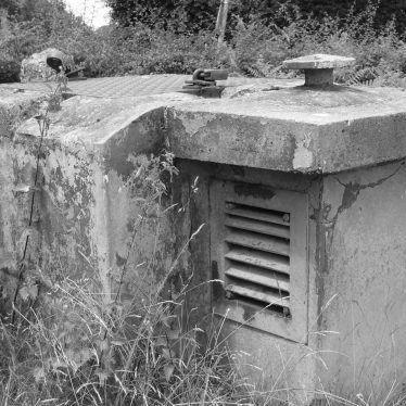 Meriden. Nuclear Observation Post, 2018. Entry hatch secured with padlocks. | Image courtesy of William Arnold