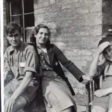 John, Joan, and Douglas, 1941   Image courtesy of C Tanner