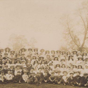 Long Compton. May Day 1918