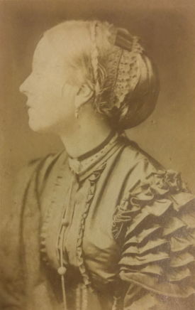 A photograph of Anne Greville (1829-1903), 4th Countess of Warwick. | Warwickshire County Record Office Reference CR1886/Box468-9