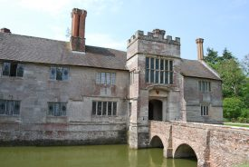 Baddesley Clinton: Family home of Nicholas Brome. | Image courtesy of Anne Elliott