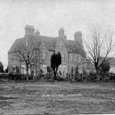 Hunningham.  Vicarage