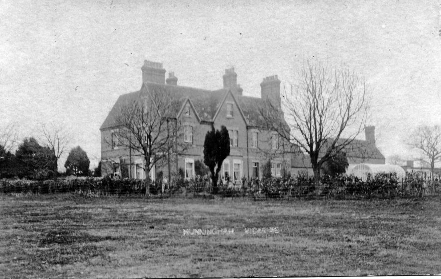 Hunningham. Vicarage, c.1890 | Image courtesy of Pam Taylor