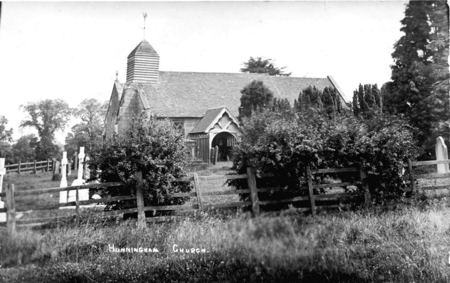 Hunningham. St Margaret's Church, c.1900 | Image courtesy of Pam Taylor