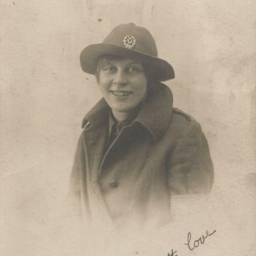 Ladbroke. Dora-Baker, aged, 17, joined the WAAC in 1916. | Image courtesy of Jo Lowrie