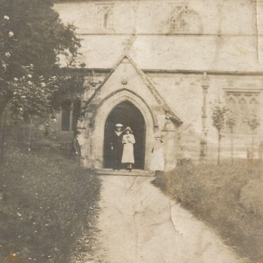 Ladbroke. Dora Baker and Harry Taylor (RN) on their wedding day, c. 1918. | Image courtesy of Jo Lowrie