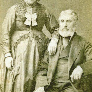 Ladbroke. Emma Baker, nee Hambling, and George Baker. c. 1880 | Image courtesy of Jo Lowrie