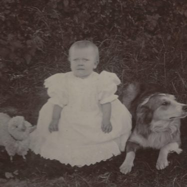Ladbroke. Dora Baker, mother of Jo Lowrie, at 10 months old. 1900 | Image courtesy of Jo Lowrie