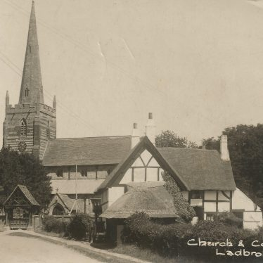 Ladbroke.  Church and Cottages