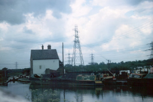 Working boats moored at Hawkesbury Junction. 1970 | Image courtesy of Colin Grundy