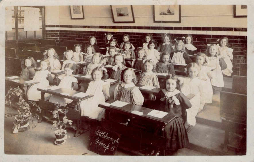 Attleborough School, n.d. | Image courtesy of Val Davin, supplied by Nuneaton Memories
