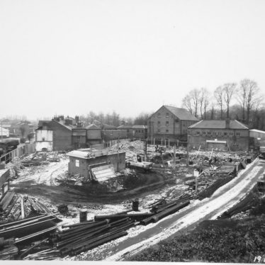 Warwick.  Brooks House, During Early Construction