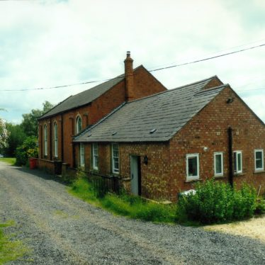Building the new Primitive Methodist Chapel in Upper Brailes