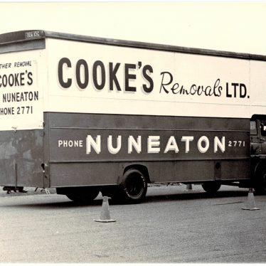 Nuneaton.  Cooke's Removals Ltd.