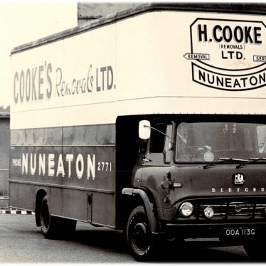 Nuneaton.  Cooke's Removals Ltd.
