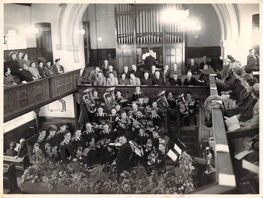 Nuneaton. Primitive Methodist Church | Image courtesy of Nuneaton Methodist Church, supplied by Nuneaton Memories