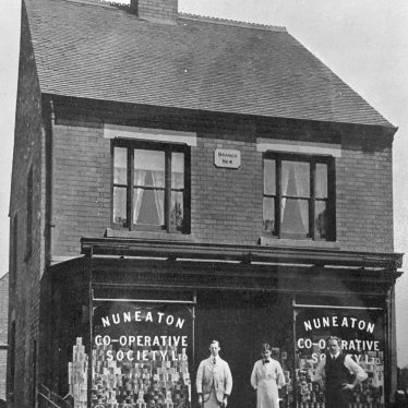 Nuneaton.  Co-op, Haunchwood Road