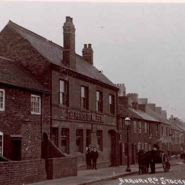 Stockingford. The Prince Of Wales Public House